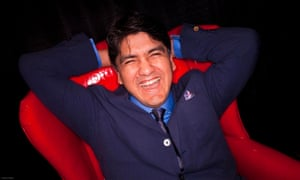 Sherman Alexie at the Wordstock literary festival.