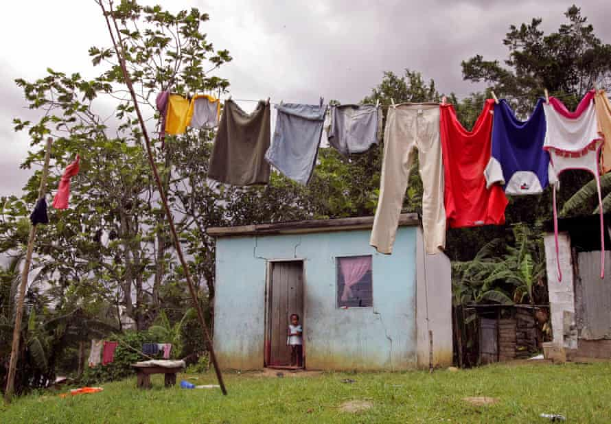 A poor dwelling in Jamaica