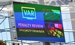 VAR scoreboard