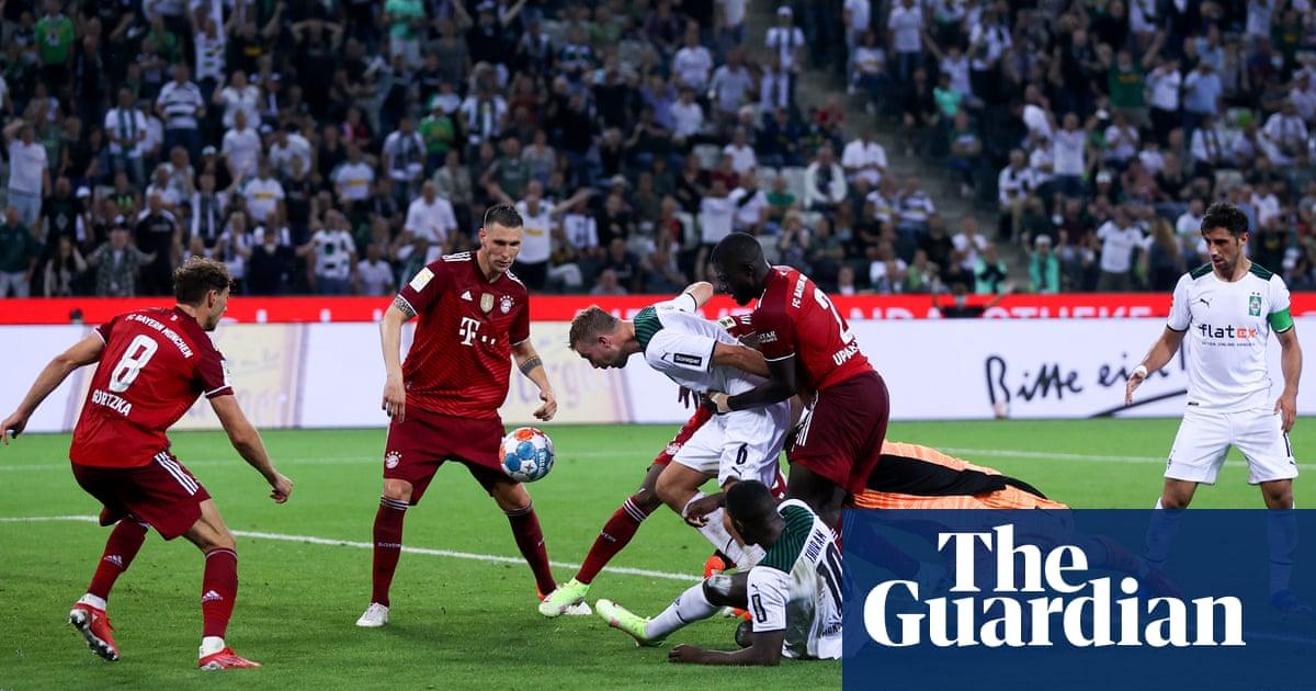 Bayern Munich held by Borussia Mönchengladbach in opener