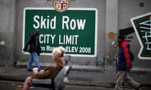 Skid Row votes: renowned homeless community seeks voice in LA