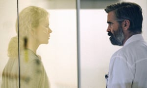 Bizarre fable … Nicole Kidman and Colin Farrell in The Killing of a Sacred Deer.