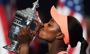 Sloane Stephens became the first unseeded player to win the US Open since 2009