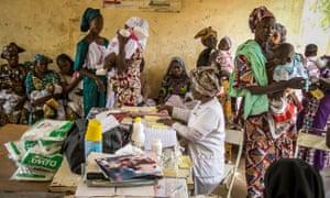 Vaccination session Mali