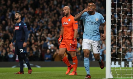 Manchester City: Guardiola on 'incredible performance' to beat Napoli – video