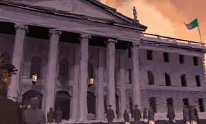 An immersive film of the 1916 Easter Rising in Ireland, from the National's VR studio.