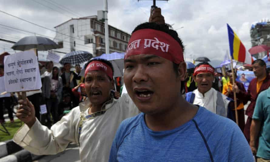 Nepalese Sherpa activists
