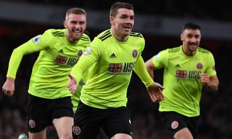 John Fleck's late strike stuns Arsenal to gain Sheffield United a point