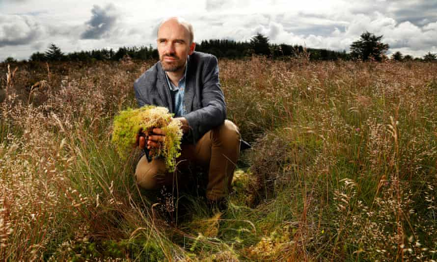 Mark Reed at Rora Moss Site of Special Scientific Interest, near Peterhead in Aberdeenshire, is the second largest remaining example of a raised bog in north-east Scotland.
