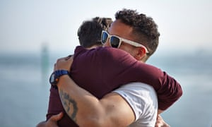 A 'Hug a Brit' social media campaign is aimed at persuading Britons to vote 'Remain' in the EU referendum.