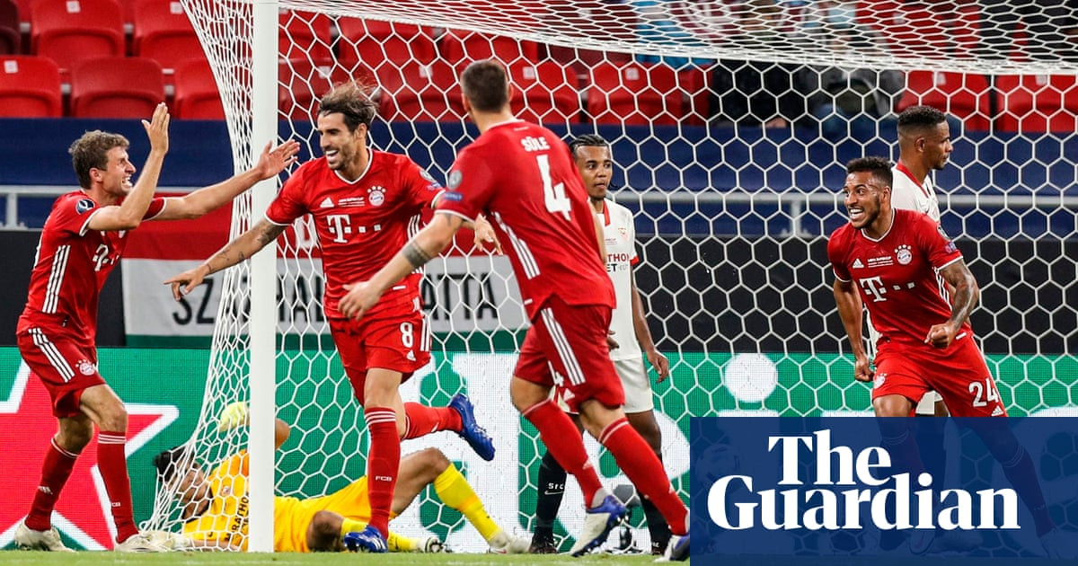 Javi Martínezs extra-time header wins Super Cup for Bayern against Sevilla