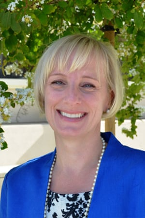 Mary Spellman, who has resigned as dean of students at Claremont McKenna College.