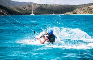"""Branson says: 'When he came in from an exhilarating session, the new head of his security team turned to him and said: """"This will be the last time you surf for eight years""""'"""