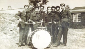Maurice Podro with band