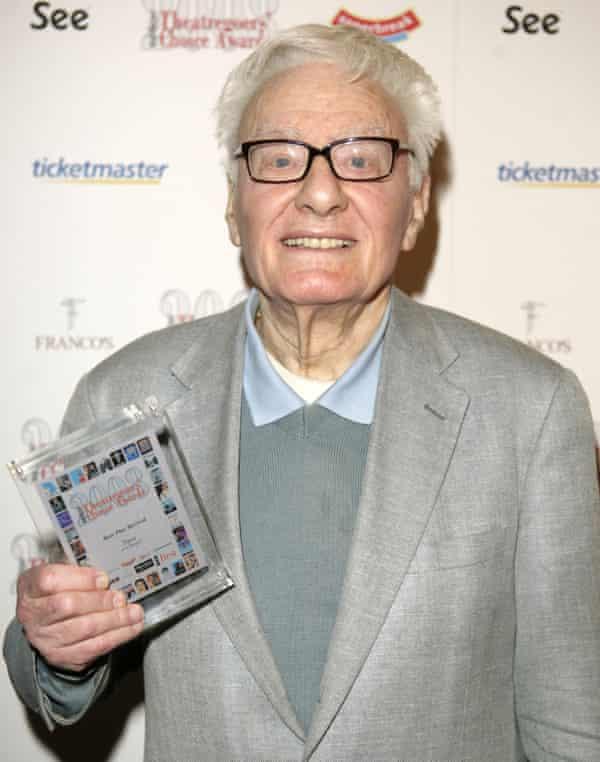 Peter Shaffer in 2008.
