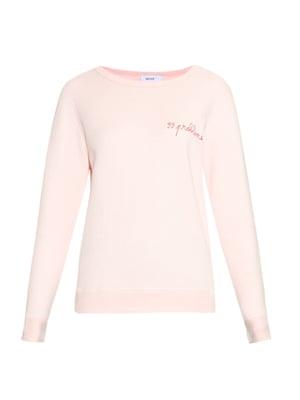 sweatshirt £85, Maison Labiche