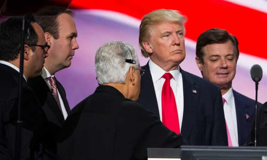 Some outlets, most with a long history of criticizing Trump, treated Manafort's charges more soberly.