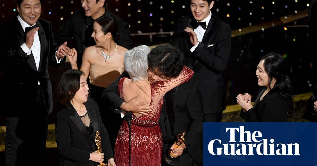 The gongs, the gowns and the speeches: Oscars 2020 – in pictures