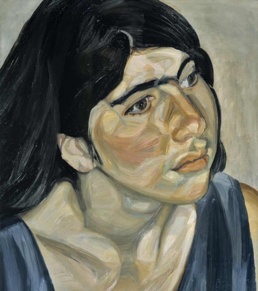Annie Freud in Annie, by Lucian Freud