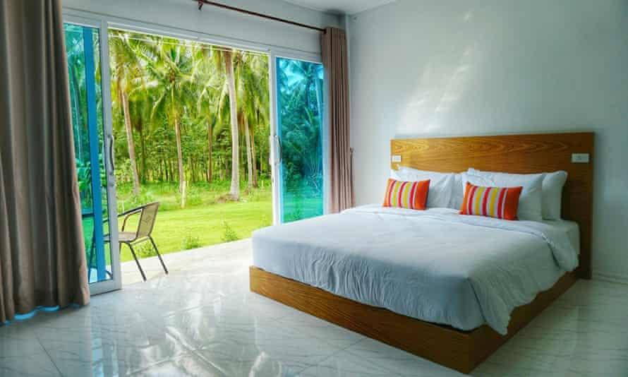 A room at Koh Kood Beds, Koh Kood, Thailand.