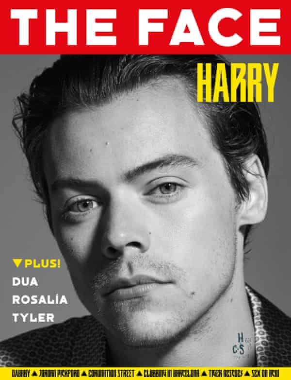 Harry Styles on the cover.