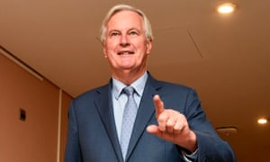 EU Brexit negotiator Michel Barrnier