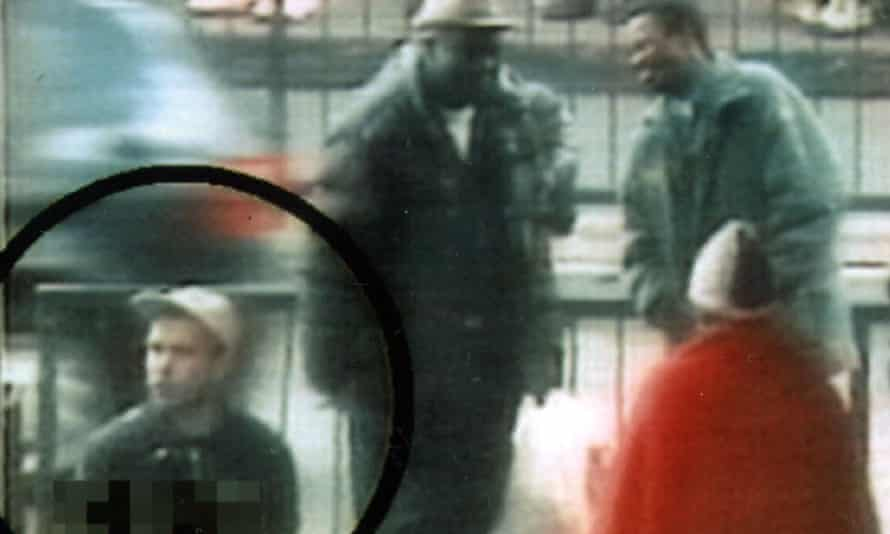 CCTV footage shows David Copeland walking through Brixton, south London on the day he planted one of his bombs.