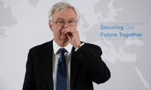 Brexit secretary David Davis appeared to be on the brink of resigning last week.