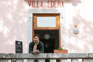 Mike Keller came back to his birthplace in 2016 and has created three hostels, including Villa Edera