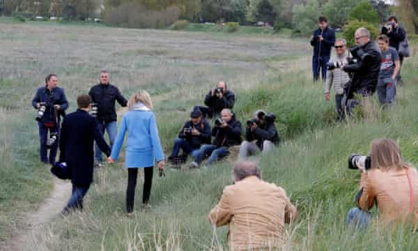 Brigitte Macron Holiday