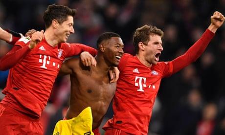 Bayern Munich crush Dortmund thanks to Robert Lewandowski double