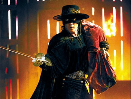 Banderas in the 2005 film The Legend of Zorro