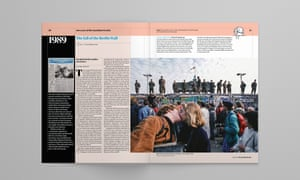 Pages from the Guardian Weekly's 100th anniversary edition