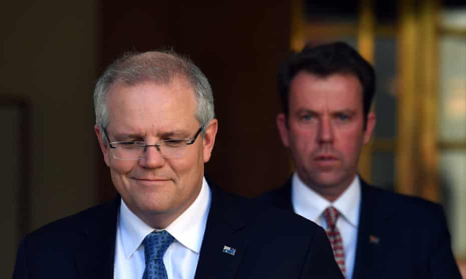 Prime minister Scott Morrison and education minister Dan Tehan announced the funding deal for Catholic and independent schools on Thursday.