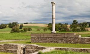 Roman ruins of Aventicum