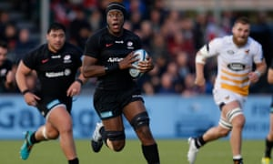 Maro Itoje has been at Saracens since 2012 and is believed to be happy to stay at the Premiership club.
