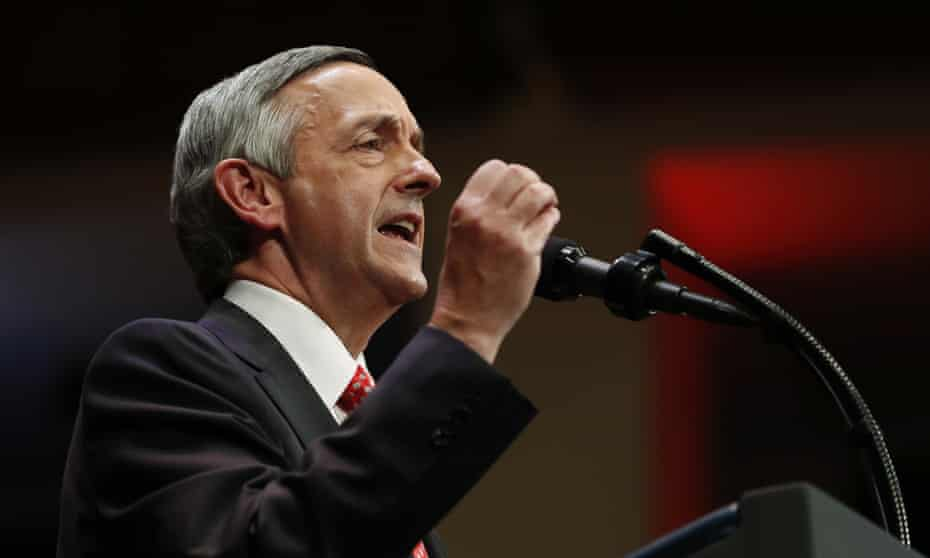 Robert Jeffress has drawn severe criticism for calling Islam and Mormonism 'heresy from the pit of hell' and saying Jews 'can't be saved'.