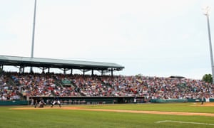 The Charleston RiverDogs play at Joseph P Riley Jr Park during a more crowded game than on Nobody Night