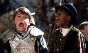 Travis Tedford and Kevin Jamal Woods in The Little Rascals.
