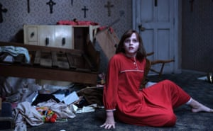 Madison Wolfe in The Conjuring 2.