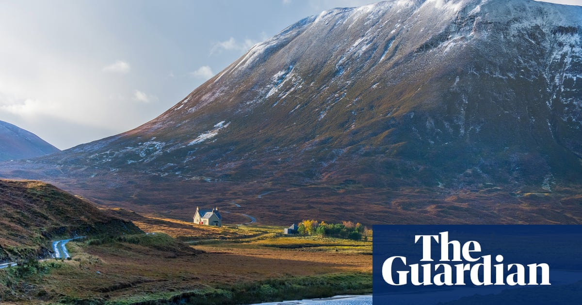 The Springwatch estate that's home to one of Scotland's most remote holiday lodges