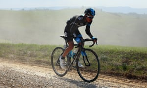 Sergio Henao riding for Team Sky in Siena, Italy, in 2014