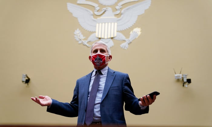 Coronavirus US: Fauci appears at house hearing on virus 'raging out of control' – live
