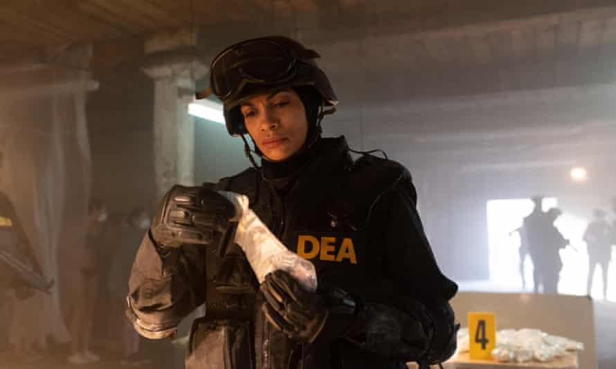 Rosario Dawson in Dopesick
