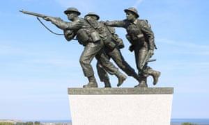 David Williams-Ellis's D-day sculpture in Ver-Sur-Mer, France.