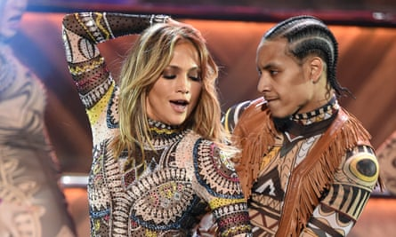 Jennifer Lopez at the American Music Awards: Vegas show is set to be a spectacle.