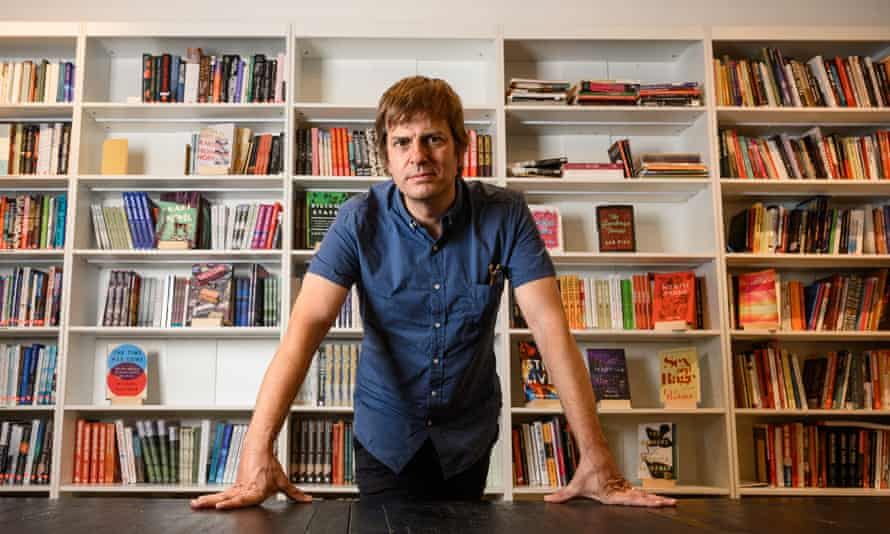 Andy Hunter, co-founder of Literary Hub and founder of Bookshop.org