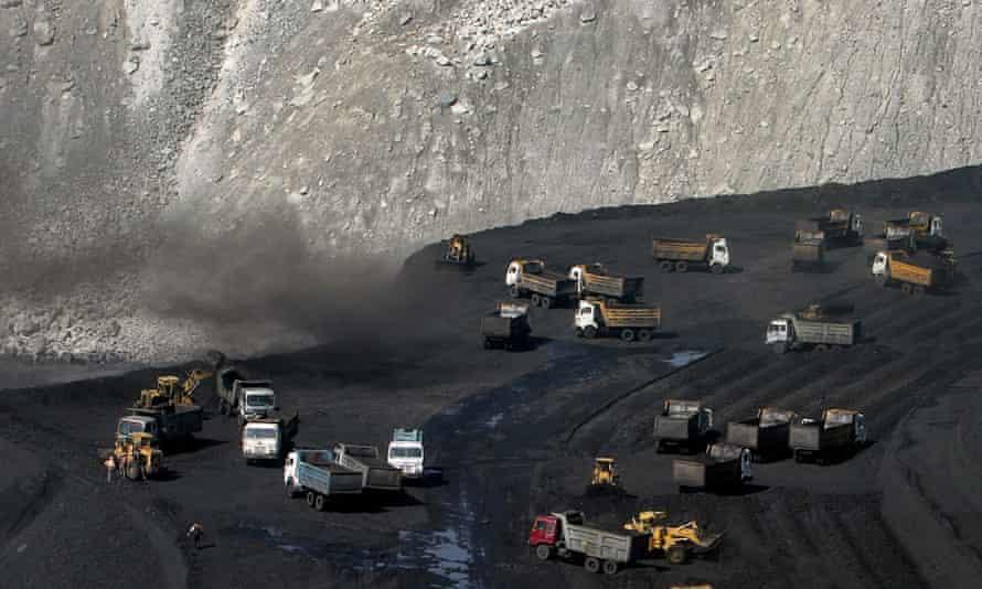 The Gevra coalmine in Chhattisgarh, India
