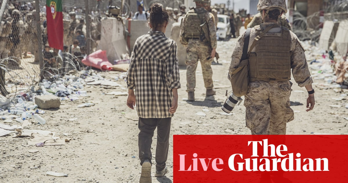 Afghanistan live news: UK's ability to process evacuations 'extremely reduced' as US on alert for further attacks