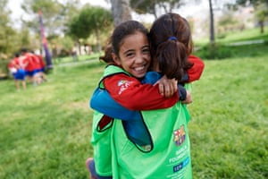 Around 6,000 children, 75% Lebanese and 25% Syrian receive FutbolNet in their school PE sessions